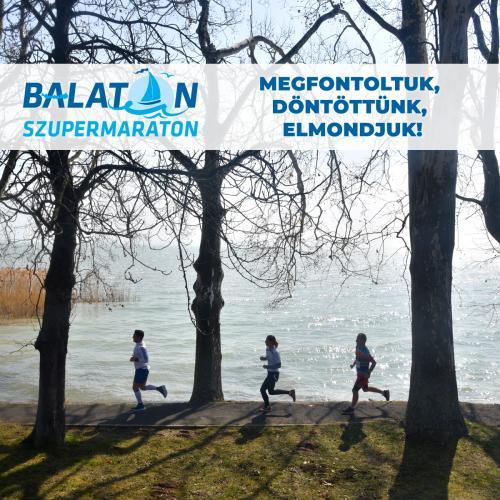Elmarad a jövő évi Balaton és FélBalaton Szupermaraton